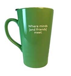Back of Mann reusable mug